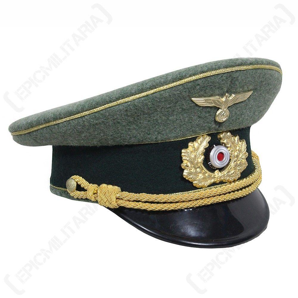 10e6ac97c40 german army general visor cap