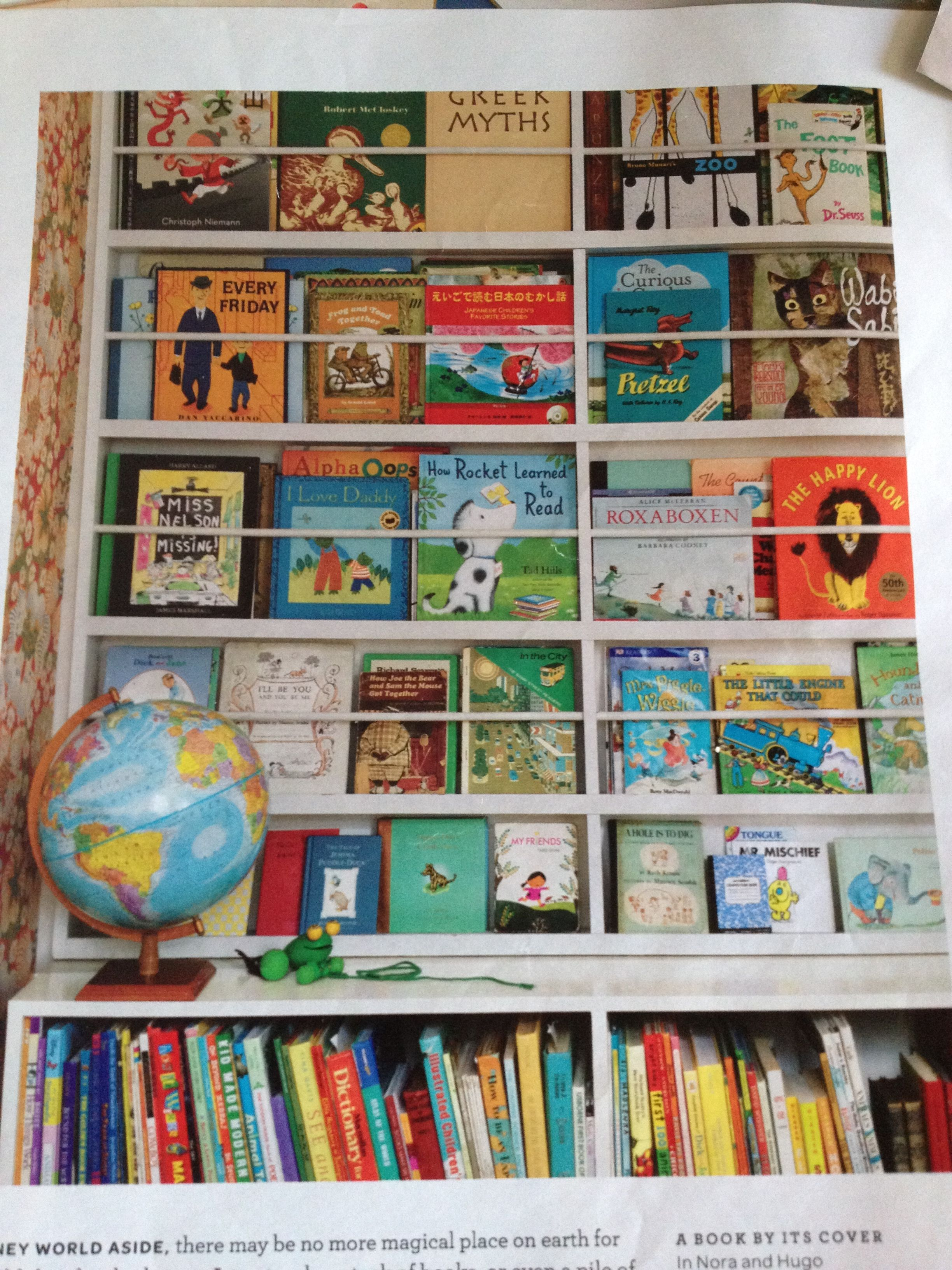 Childrens Bookshelves  Martha Stewart Living
