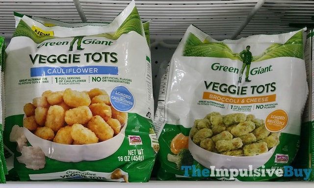 Spotted On Shelves Green Giant Veggie Tots Cauliflower And Broccoli Cheese Green Giant Veggie Tots Cauliflower And Broccoli Cheese Veggie Delight