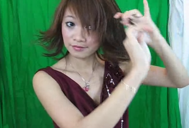 This short style was made popular by Yuna from <i>Final Fantasy X</i>.