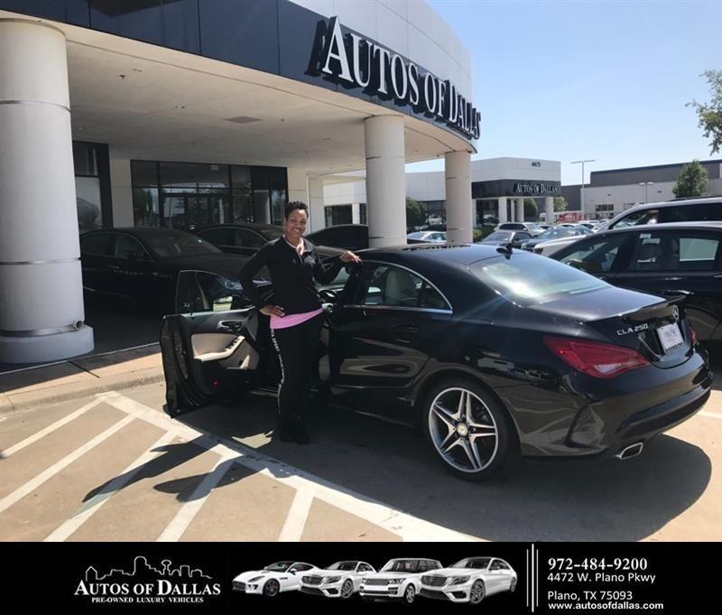 Congratulations Charlene On Your #Mercedes-Benz #CLA-Class