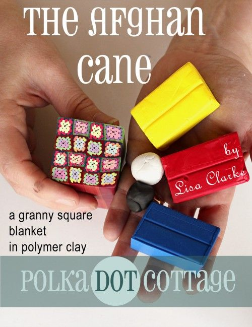 The Afghan Cane: A Granny Square Blanket in Polymer Clay