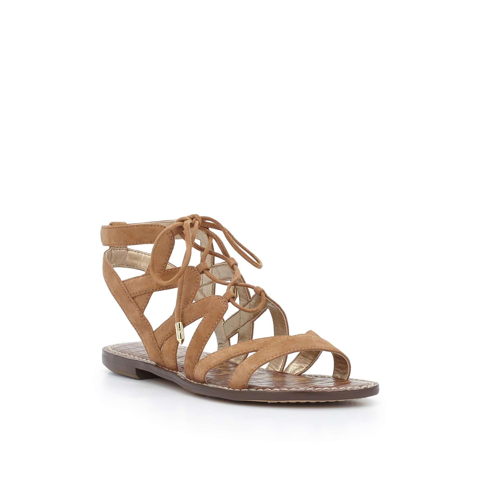 278c91a54 Gemma Lace-Up Gladiator Sandal by Sam Edelman - Golden Caramel - View 3