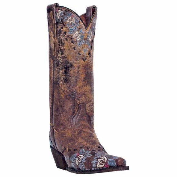 Cowgirl BlueDaisy Boots