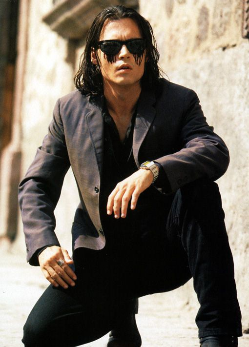 Johnny Depp In Once Upon A Time In Mexico Omg He Was So Hot In