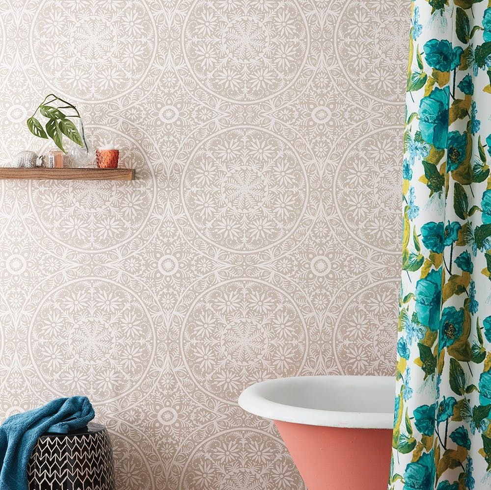 Check Out The Full Opalhouse Lookbook Target S New Boho Home Collection Accent Wall Entryway Peel And Stick Wallpaper Wallpaper Accent Wall