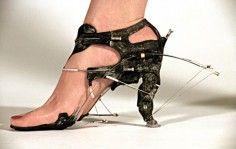 Rachel Armstrong Protocell Shoe