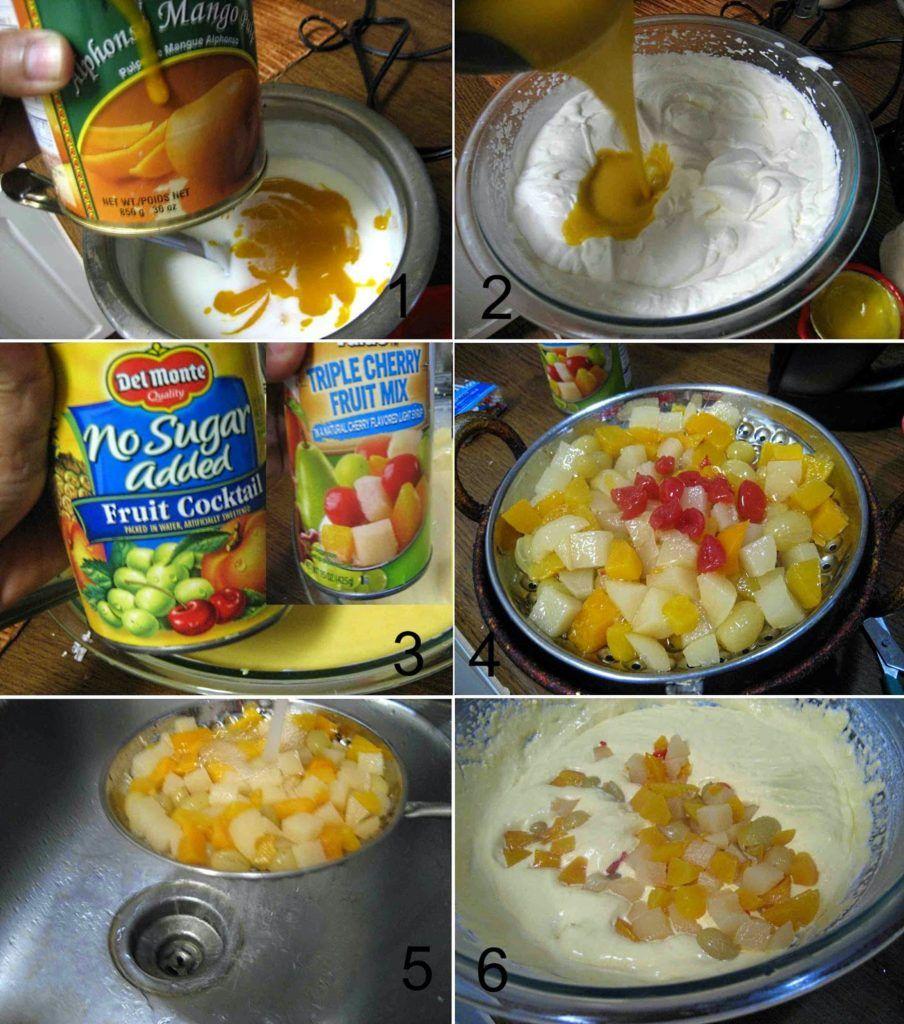 Mango Fruit Custard without Custard Powder | Quick Summer