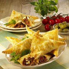 Photo of Puff Pastry Corners with Feta & Hack Recipe   DELICIOUS