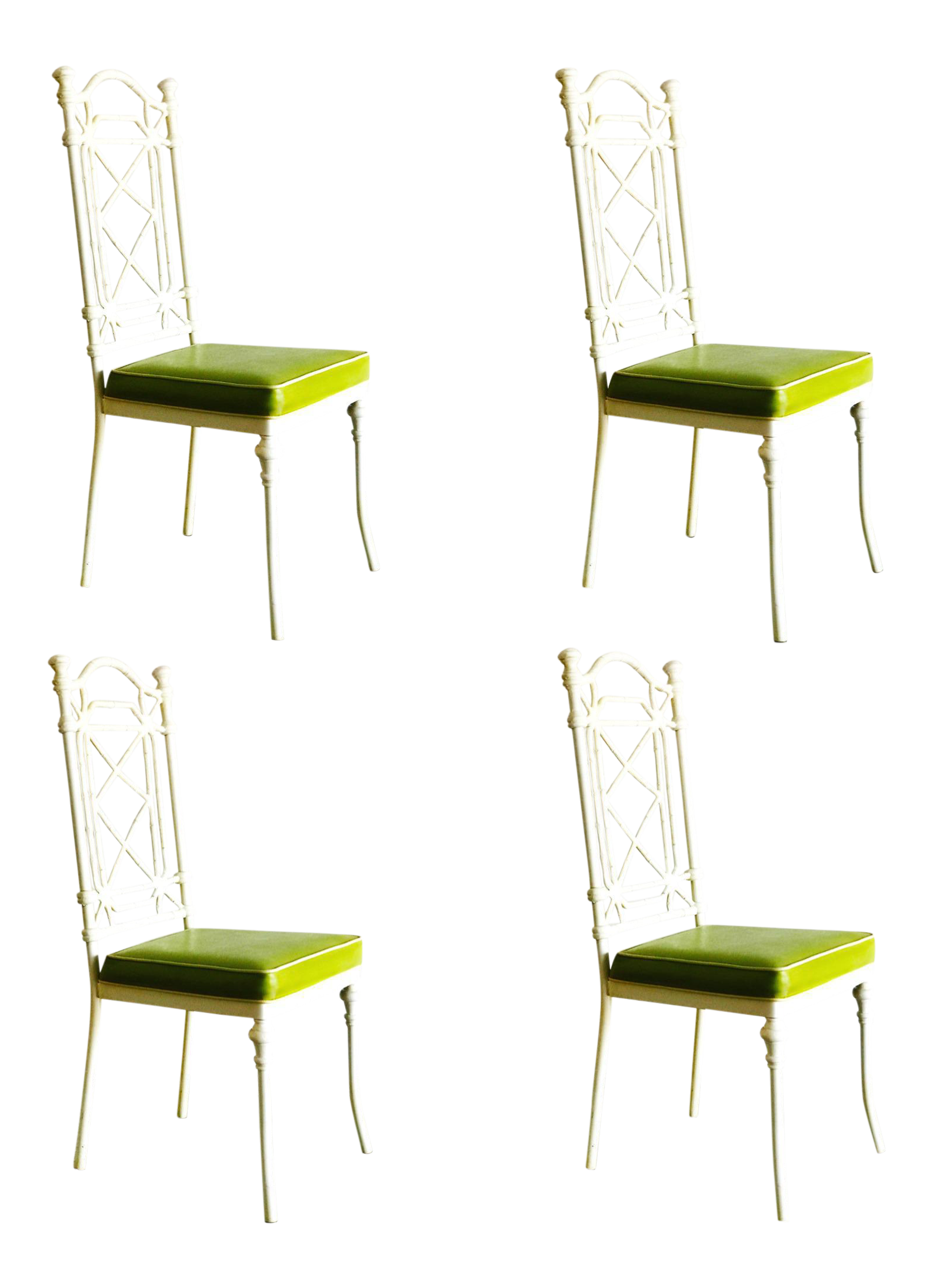 Fine Kessler Cast Iron Bamboo Chairs Set Of Four Furniture We Home Remodeling Inspirations Basidirectenergyitoicom