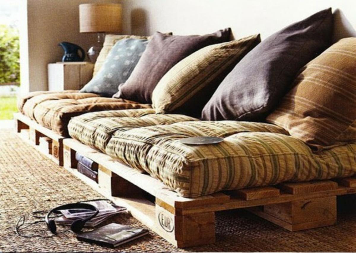 Decorar Con Palets Divertido Sostenible Y Barato Decorar Con  # Muebles Sostenibles