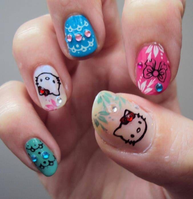 Nail Designs Kitty Nails Nail Designs Picture Perfect Nail