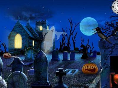 Cementerio halloween terror protectores de pantalla for Protectores animados
