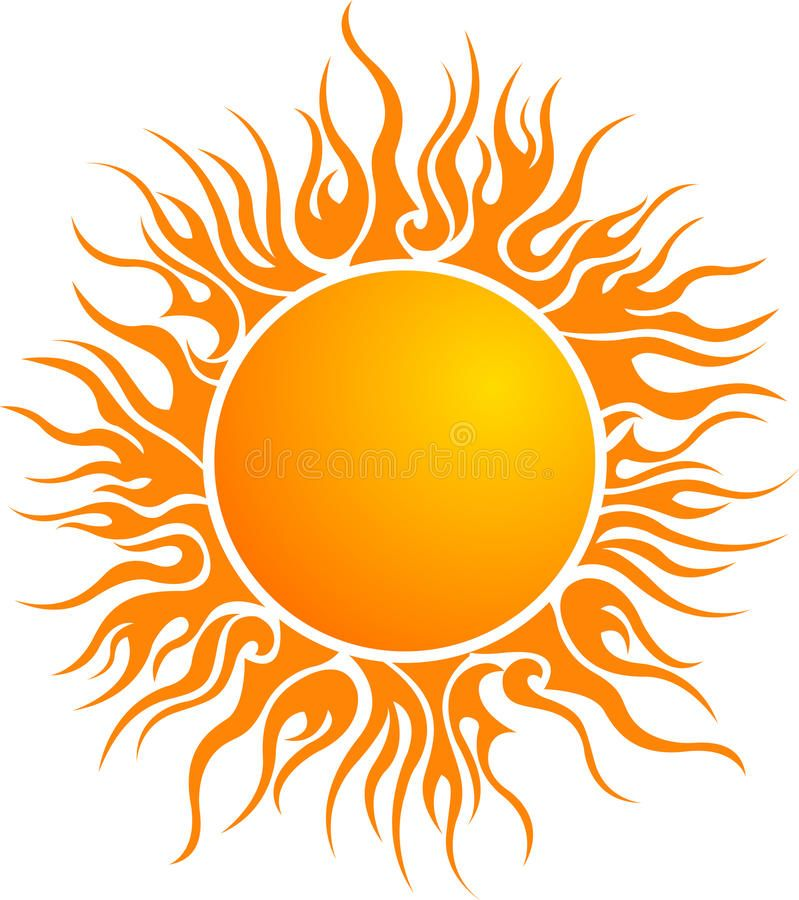 Download Sun Logo Stock Vector Image Of Heating Abstract Logo 22154493 Sun Art Sun Logo Sun Painting