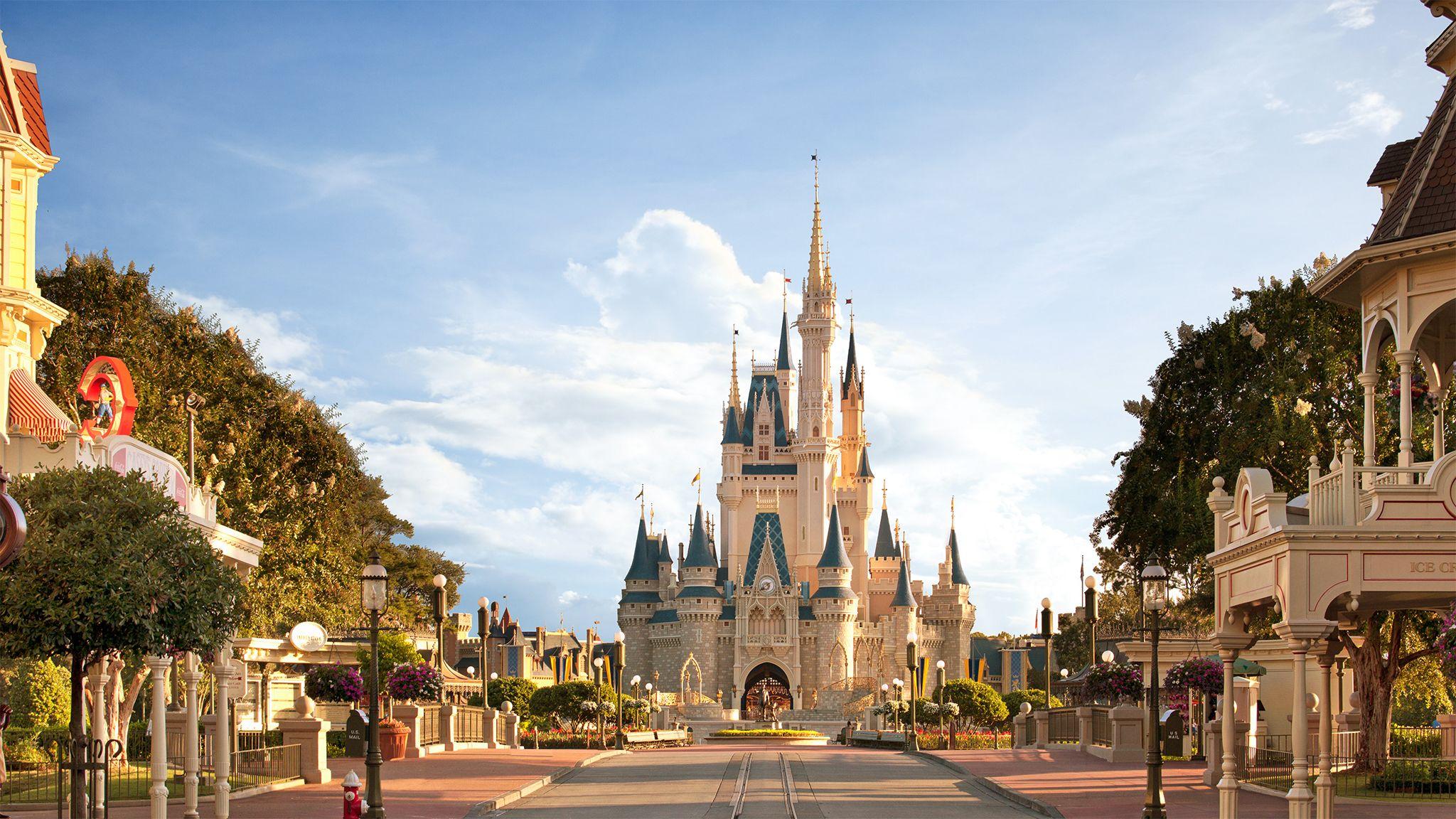 Magic Kingdom Cinderella Castle at Walt Disney World