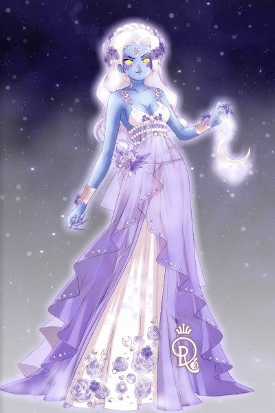 Adoptable:Night Elf: Moon Daughter by screamFor ~ Anime Dress Up