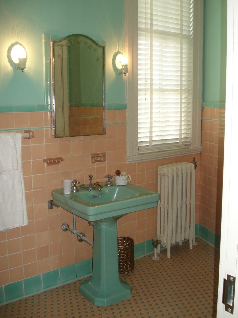 Vintage bathroom sinks - House
