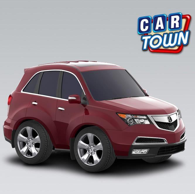 Jugar Car Town Ahora Para Obtener El Nuevo 2012 Acura MDX