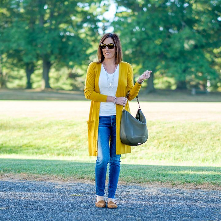 2333434c11 Mustard Cardigan Outfit  FashionFriday