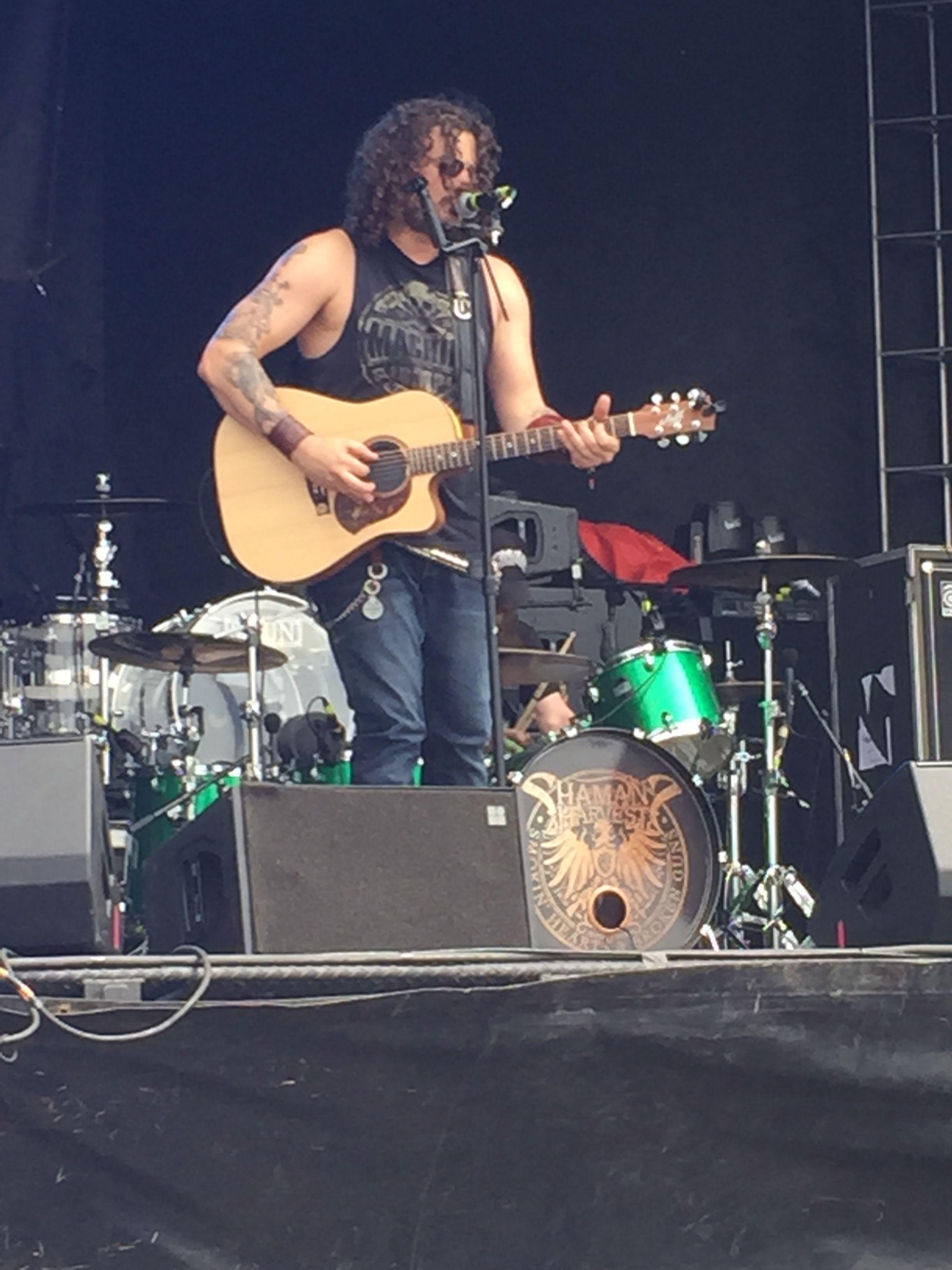 Shaman's Harvest at Rock on the Range in Ohio 5/15/2015