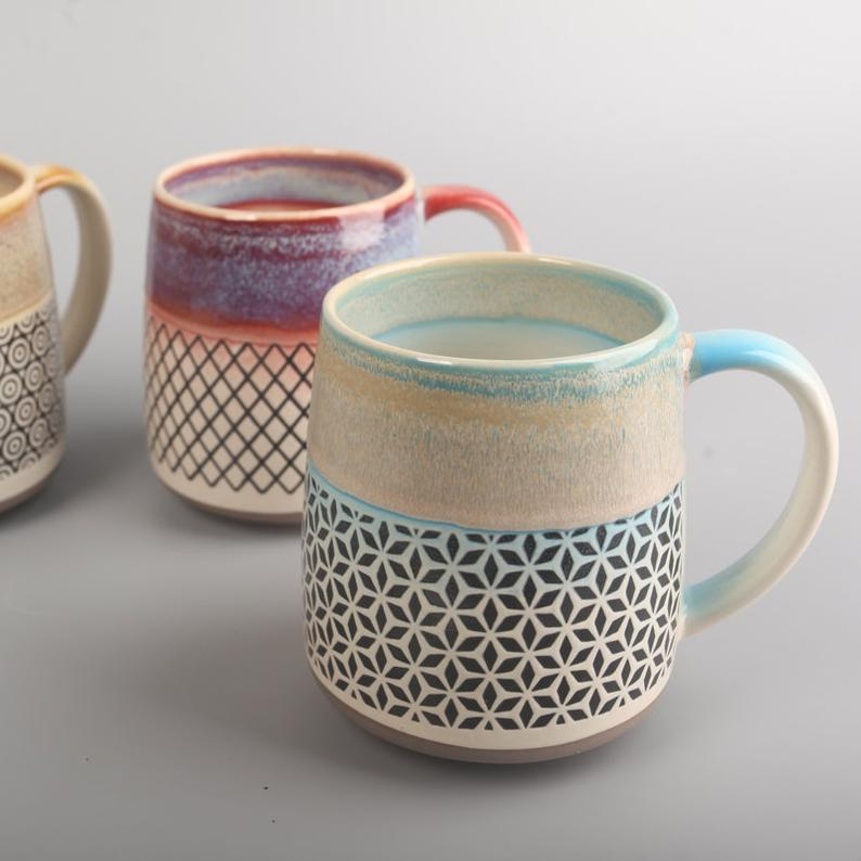 Ceramic mug, Pottery mug handmade, Coffee mug, Gift for her, Coffee lover, Housewarming gift, Handmade mug, Unique mug, Office mug