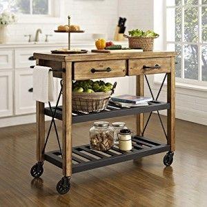 Kitchen Cart, Kitchen Island Cart & Kitchen Utility Carts | Kitchen ...