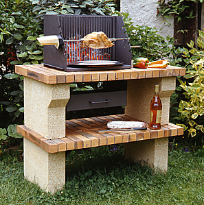 Barbecue Pierre Brique