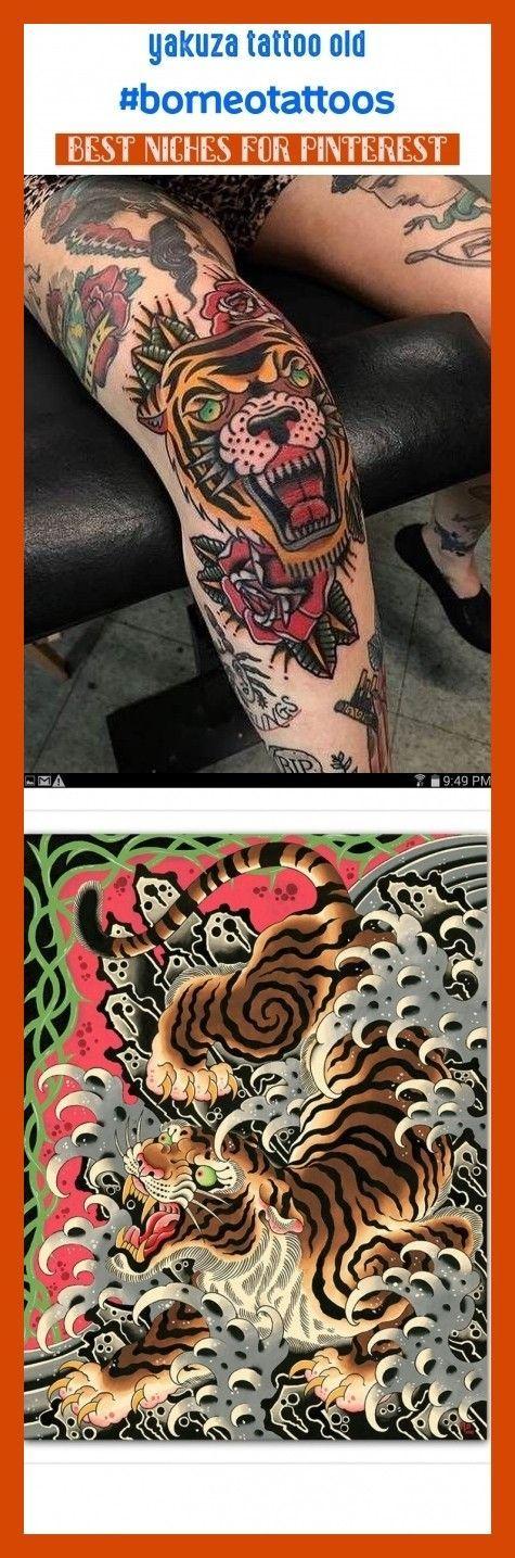 Yakuza tattoo old borneotattoos seotips seo tattoos