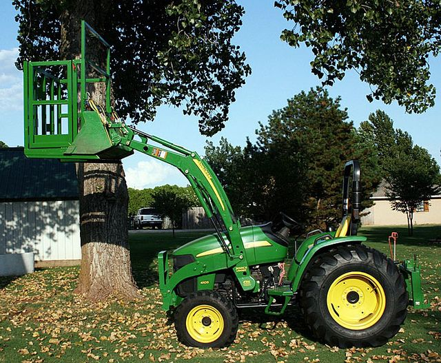 Tractor Bucket Hoist : Bucket lift by b perry cool stuff pinterest