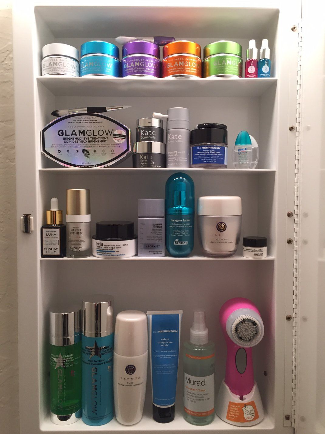 dream beauty cabinet is part of Tatcha skincare -