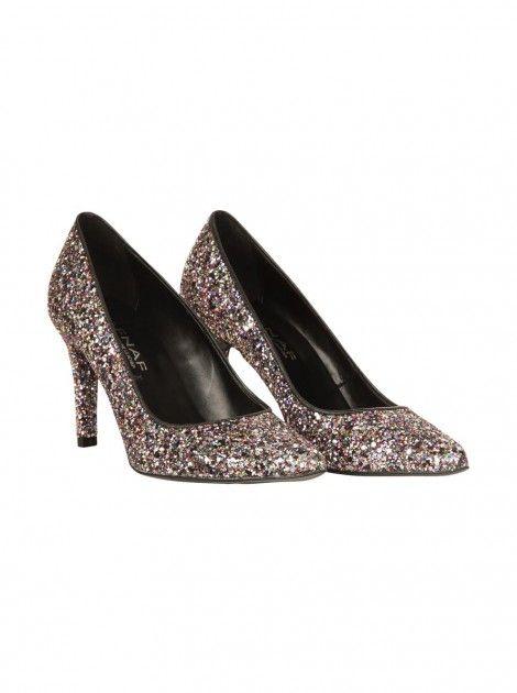ee496adc3dd783 Escarpins glitter MULTICOLORE - Escarpins Femme - NAF NAF | wish ...