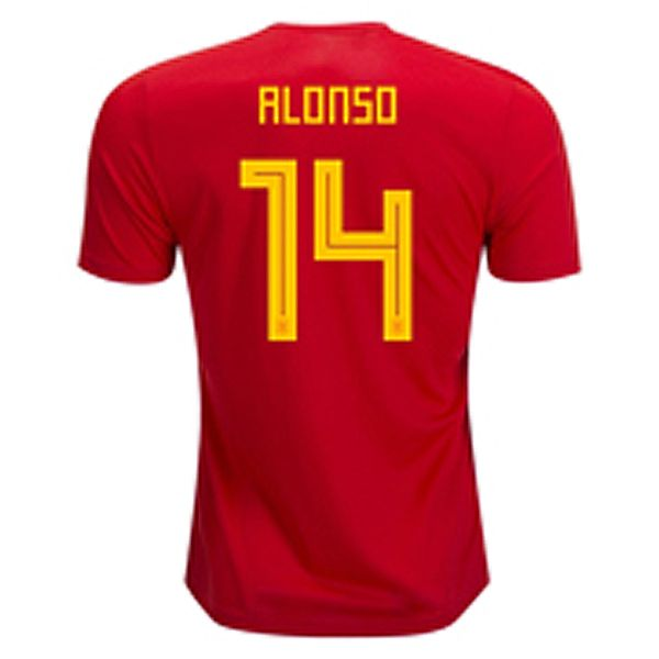 dbf75ea03 Spain Shirt 2018 World Cup For Cheap xabi alonso Soccer Jersey ...