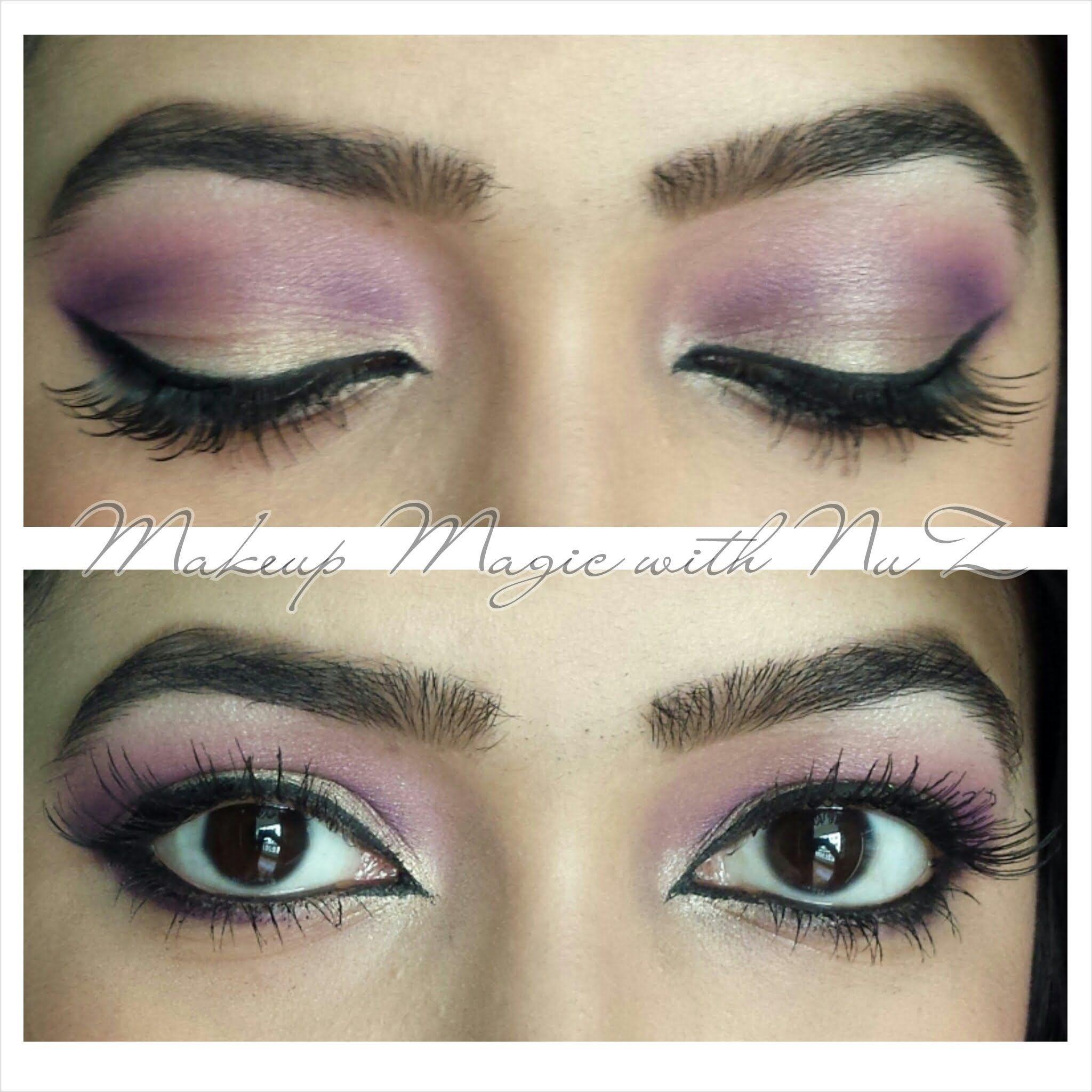 Pinkpurple gold eye makeup tutorial beauty tips pinterest pinkpurple gold eye makeup tutorial baditri Images