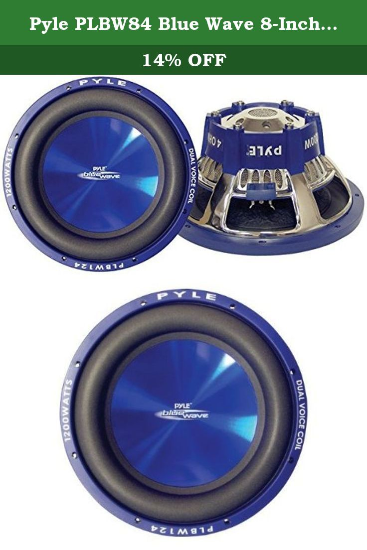hight resolution of pyle plbw84 blue wave 8 inch 600 watt high powered subwoofer main
