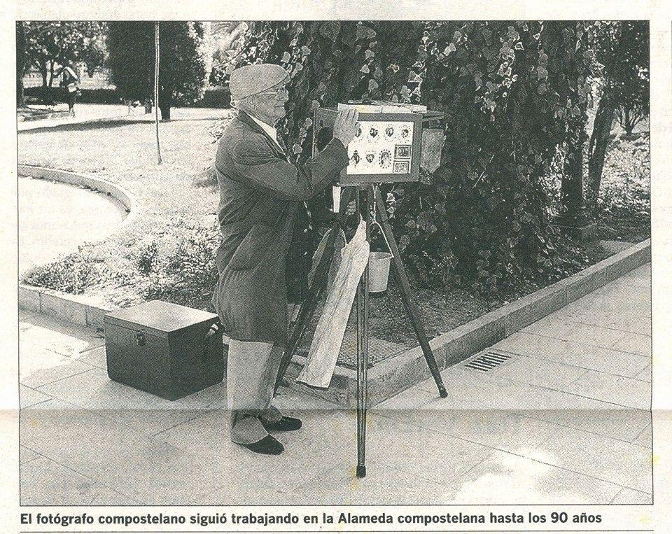 Fot grafo del minuto en la alameda de santiago de - Fotografo santiago de compostela ...