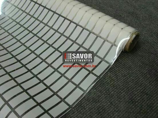 Revestimento decorativo para vidro
