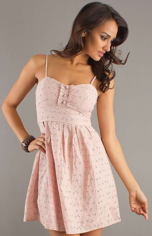 2dadf1a29b48d5 pink day dresses | Cute Light Pink First Valentine's Day Dress - Fashion  Show ON