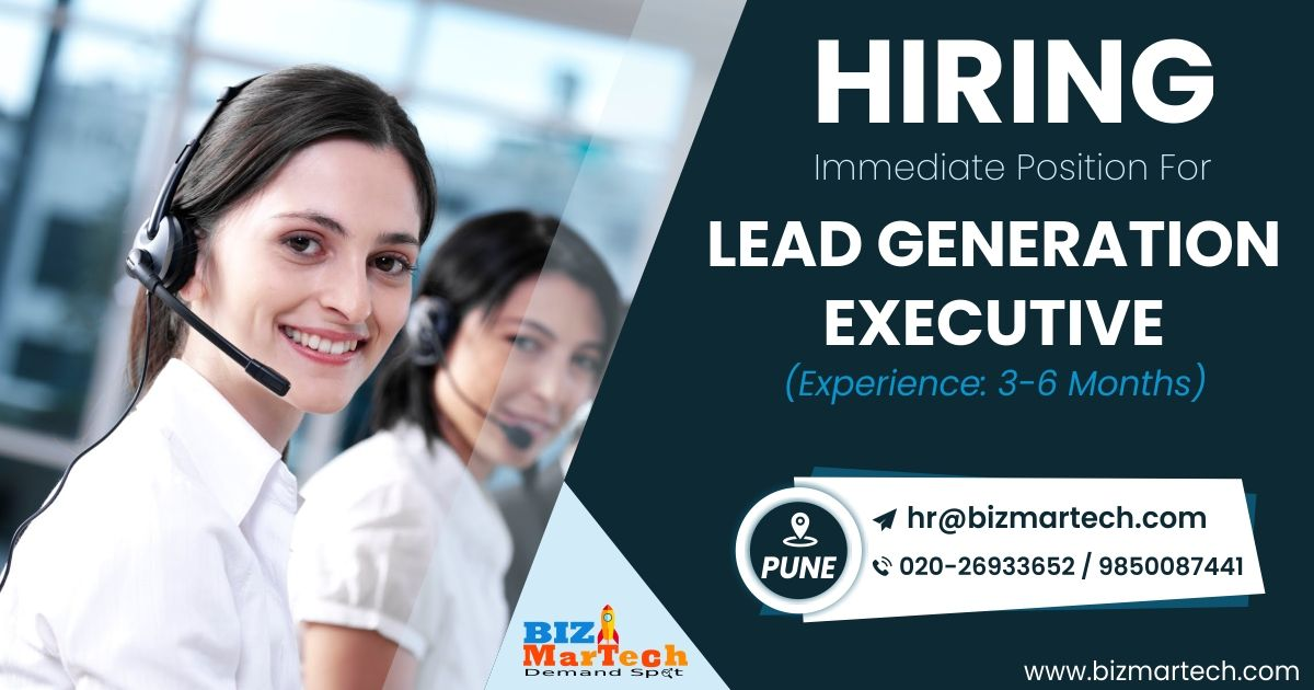 Hi Connection's, We are hiring for Lead Generation