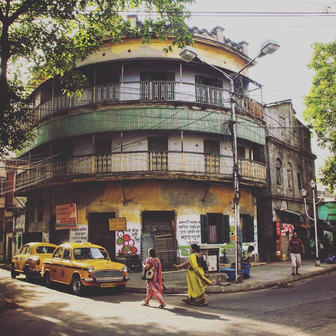 Calcutta Morning Calcuttahouses Calcutta Kolkata Old Houses Neighbourhood Architecture Buildi Building Photography India Photography India Street