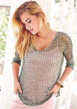 Ажурный пуловер Tamaris