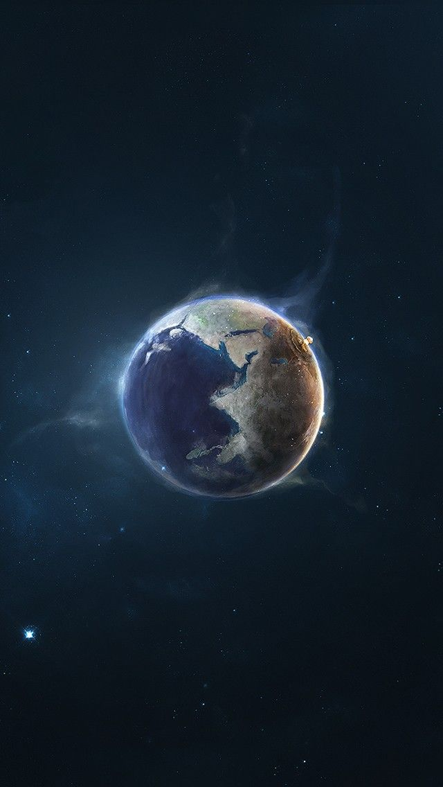 Earth Outer Wallpaper Hd 4k For Mobile Android Iphone Space Iphone Wallpaper Wallpaper Space Iphone Wallpaper Earth
