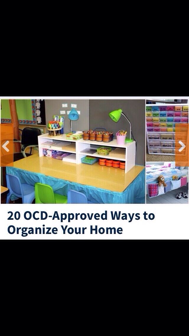20 OCD Approved Ways of Organising Your Home #Home #Garden #Trusper #Tip