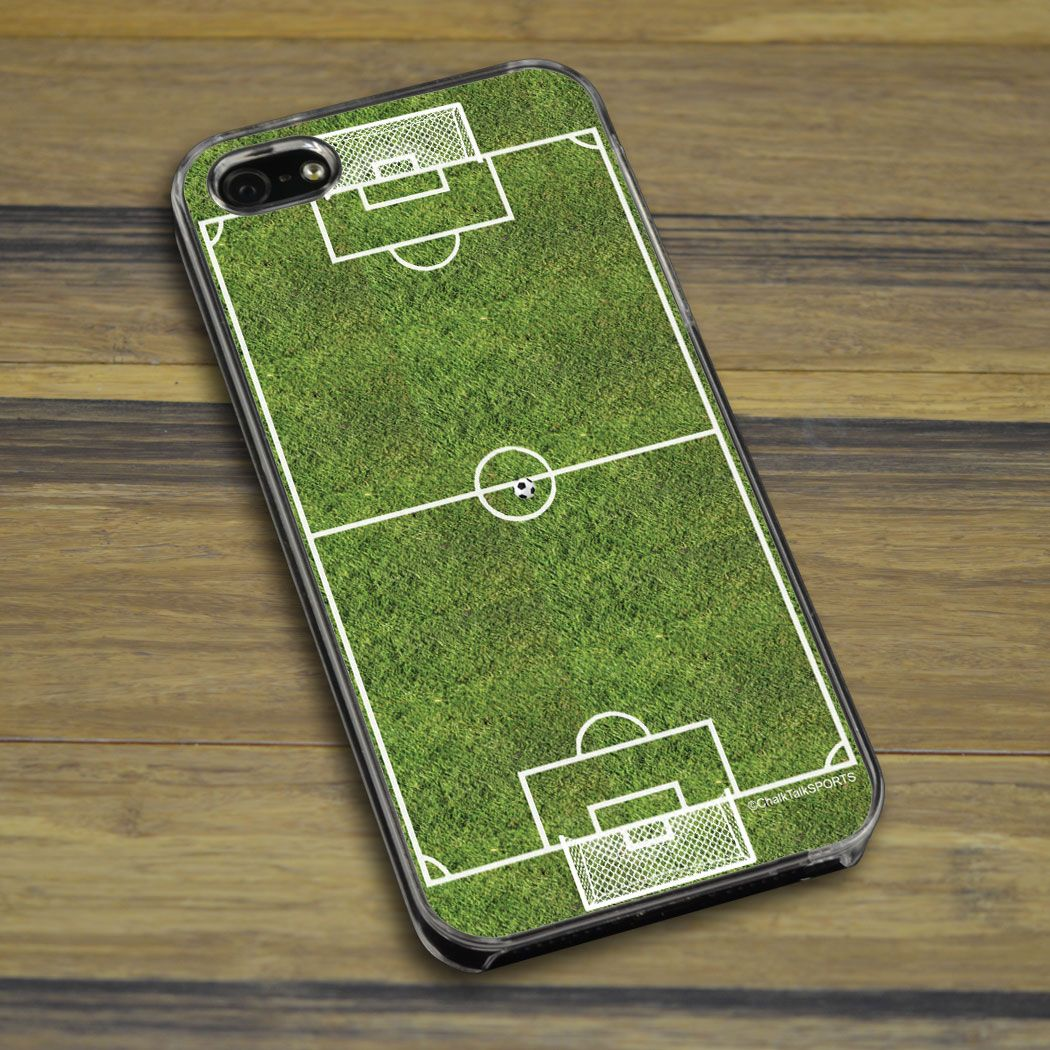Personalized Soccer Phone Case Soccer Field   Soccer iPhone Case ...