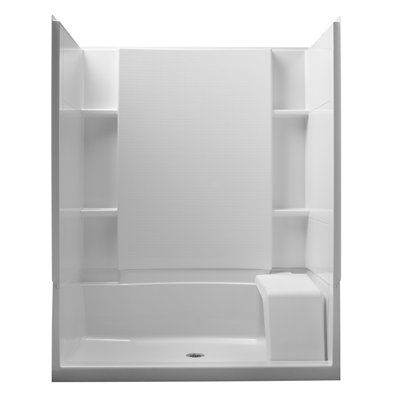 Lowe S Shower Stalls Sterling 72294800 0 36 In W X 60 In L X 55