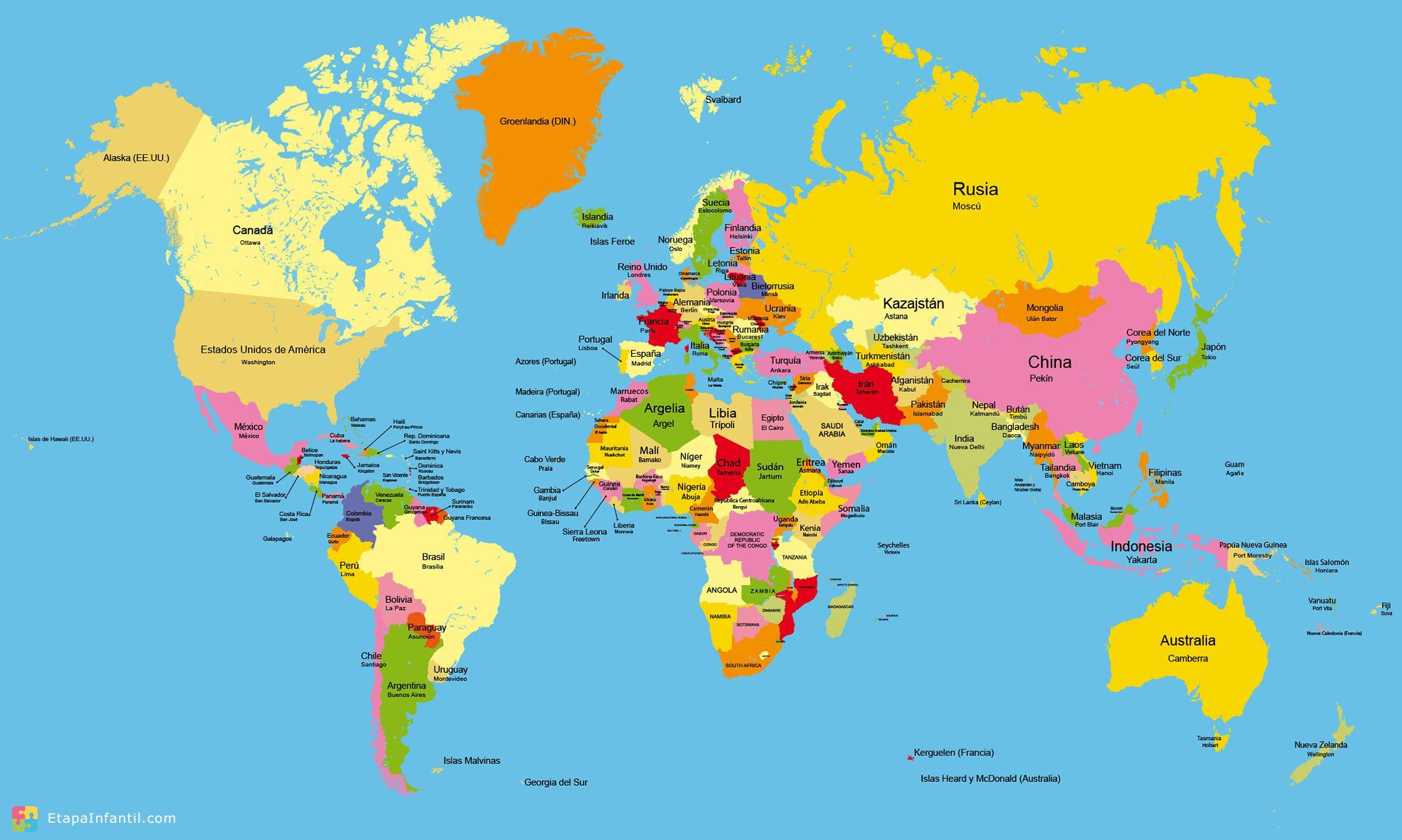 resultado de imagen para mapamundi images