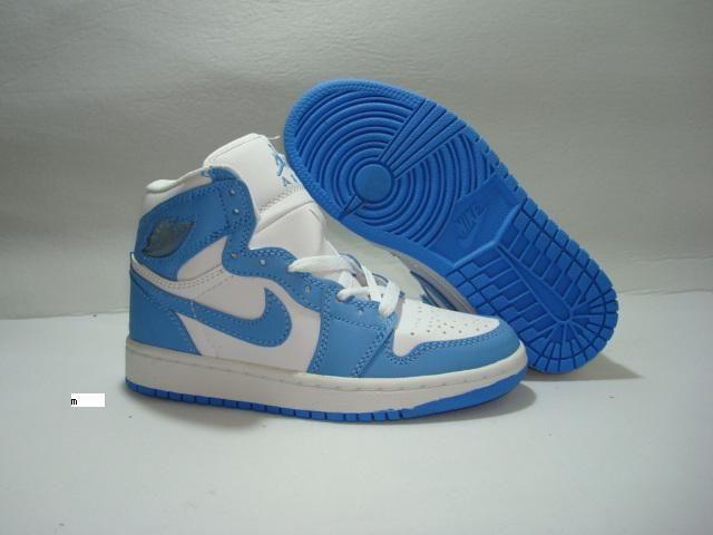 uk availability 2891b f8127 Jordans shoes Women | Retro Jordans 1 white baby blue women ...
