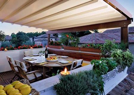 Decoración de terrazas - Cómo decorar la terraza para el verano