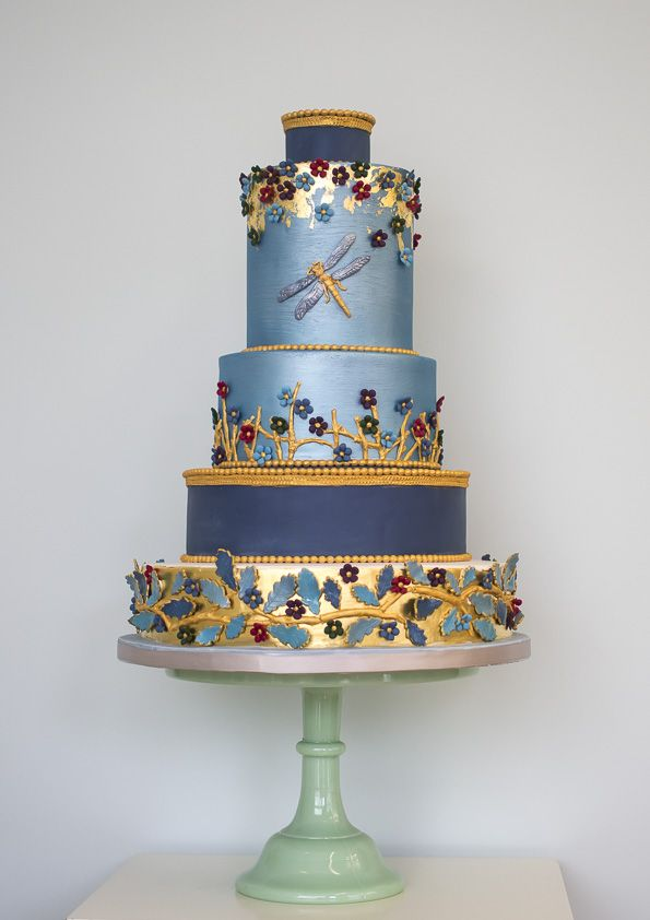 wedding cake by Rosalind Miller winter collection (6)