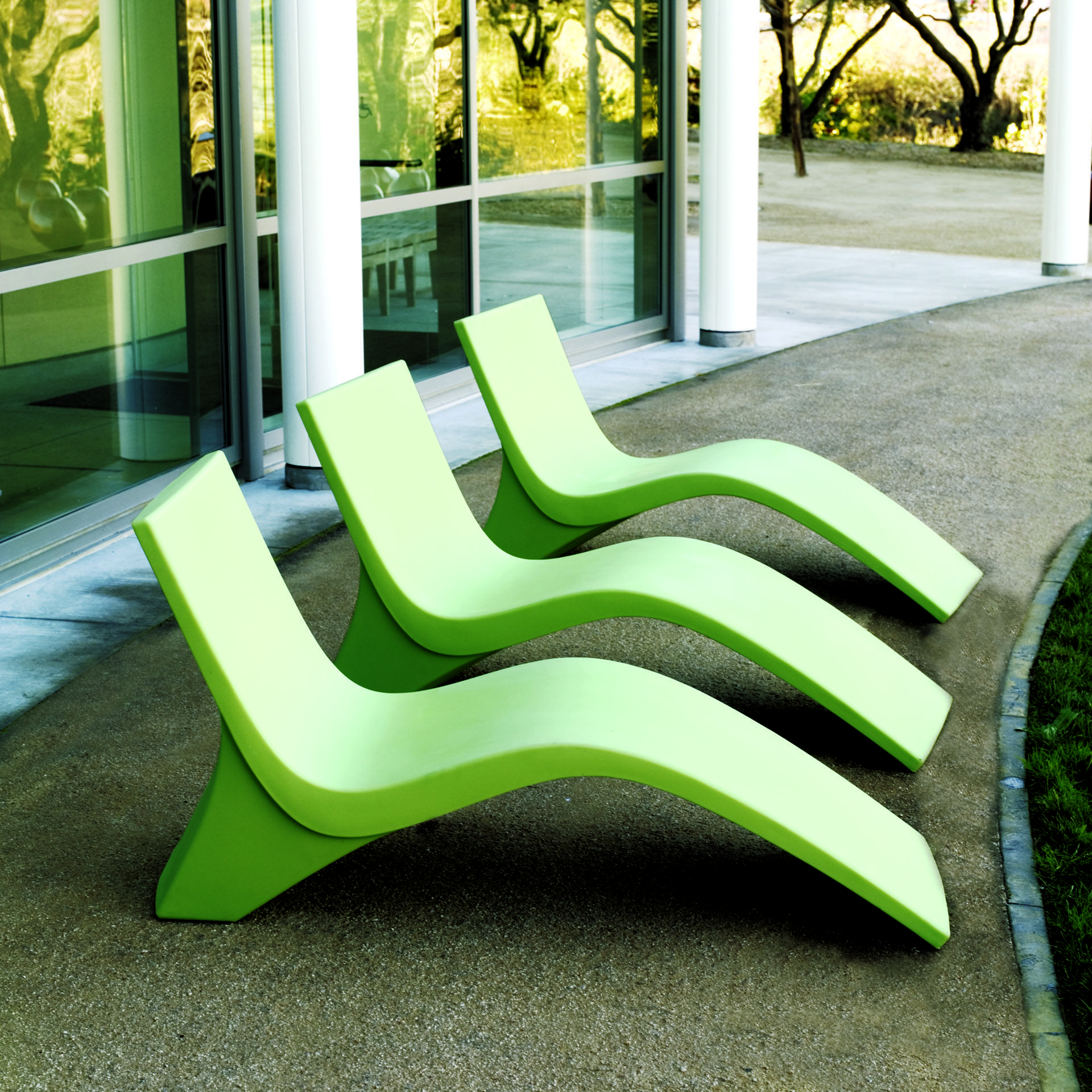 Superb Landscape Forms 35 Chill Seating Is Molded Polyethylene Lounge Seating That  Comes In Many Colors And May Be Mounted To A Hard Surface Or Used  Freestanding. Photo