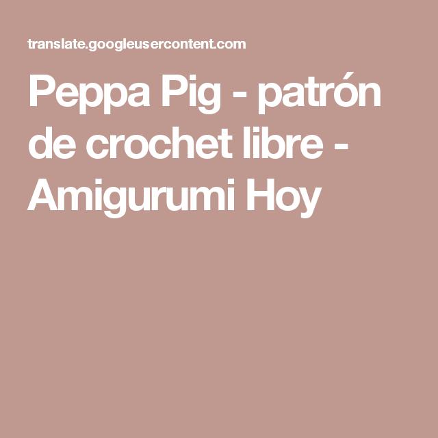 Perfecto Ganchillo Libre Patrón Del Sombrero Del Cerdo Motivo ...
